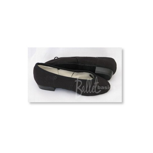 Black Canvas Character Shoes